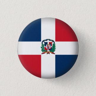 Round Dominican Republic 1 Inch Round Button