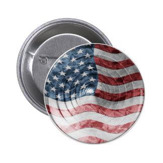 Round Flag 2 Inch Round Button