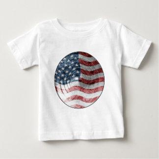 Round Flag Baby T-Shirt