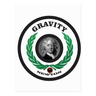round gravity in postcard