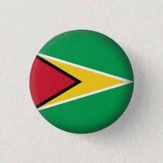 Round Guyana 1 Inch Round Button