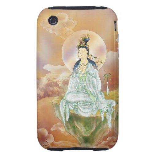 Round Halo Avalokitesvara Iphone 3G/3GS case iPhone 3 Tough Cases