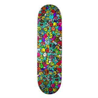 Round Heads Multi Color Skate Boards