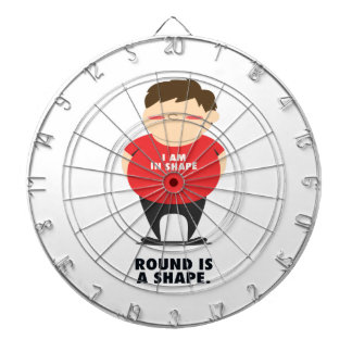 Round Is A Shape Dartboard