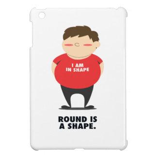 Round Is A Shape iPad Mini Cover