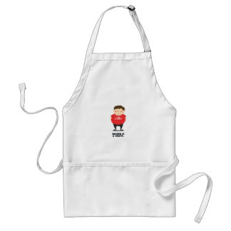 Round Is A Shape Standard Apron