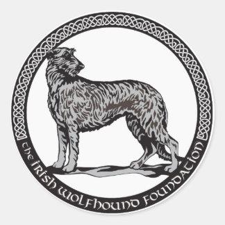 Round IWF Logo Sticker