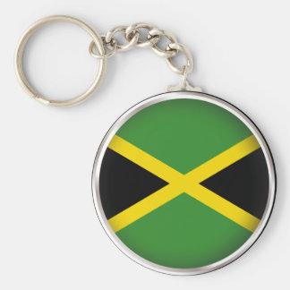 Round Jamaica Keychain