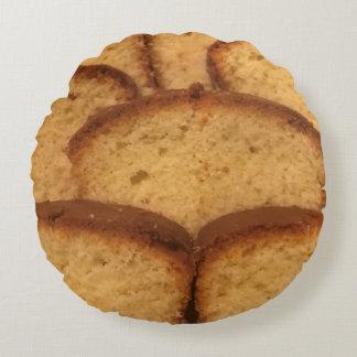 Round kissing cake round pillow