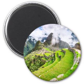 Round Magnet Machu Picchu, Cusco - Peru