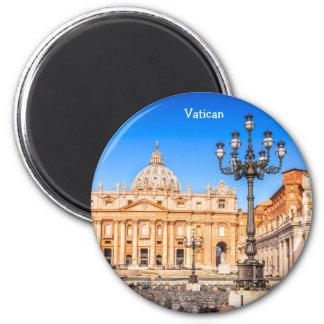 Round Magnet Vatican