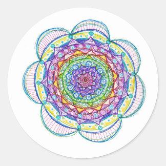 Round Mandala Sticker Sheet