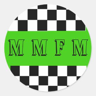 Round MMFM Sticker