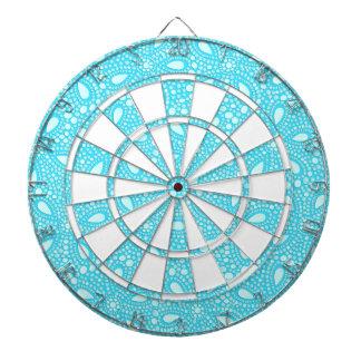 Round mosaic dartboard