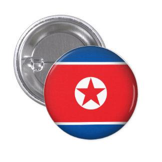Round North Korea 1 Inch Round Button