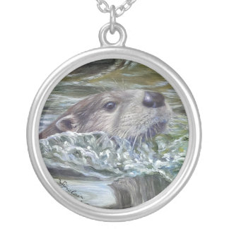 Round Otter Necklace