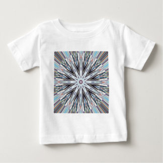 Round Pastel Mandala Baby T-Shirt
