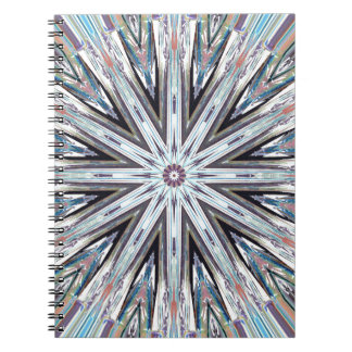 Round Pastel Mandala Notebook