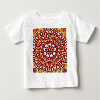 Round pattern baby T-Shirt