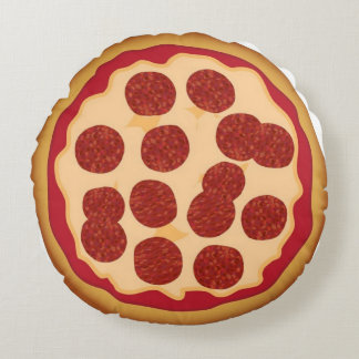 Round Pepperoni Pizza Pillow With Microwave Recipe