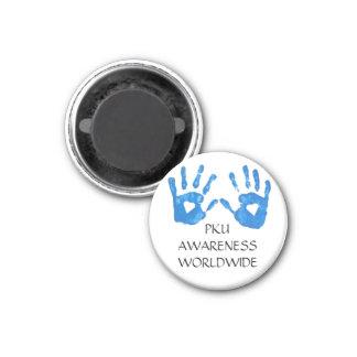 ROUND PKU AWARENESS Magnet