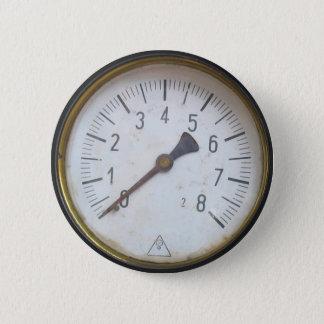 Round Pressure Gauge Meter Dial 2 Inch Round Button