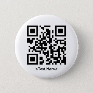 Round QR Code Button