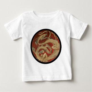 Round Red Dragon Baby T-Shirt