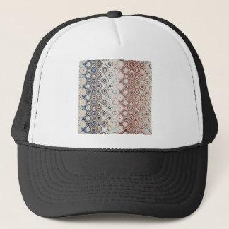Round Retro Rings Trucker Hat