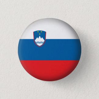 Round Slovenia 1 Inch Round Button