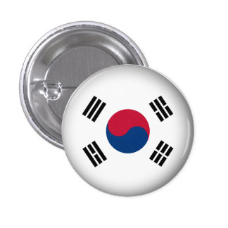 Round South Korea 1 Inch Round Button