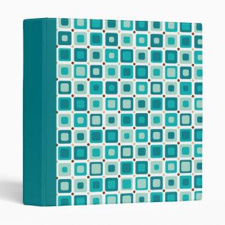 Round Squares Pattern Binder