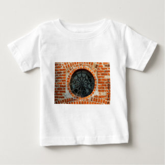 Round Stained Glass Window Baby T-Shirt