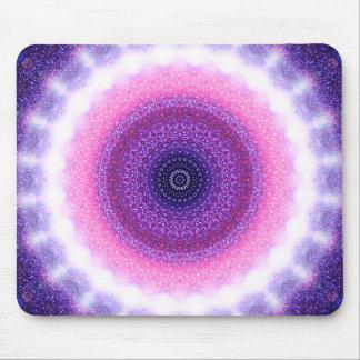 Round Stargate Mandala Mouse Pad