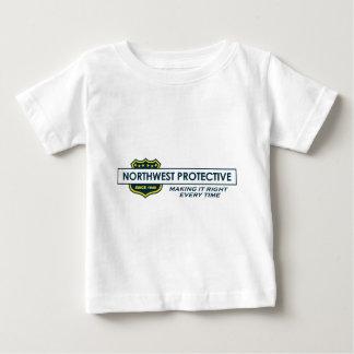 Round Sticker Baby T-Shirt