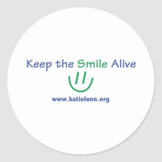 Round Sticker - Keep the Smile Alive