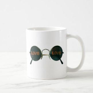 Round Sunglasses Mugs