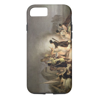 Round the Camp Fire (colour litho) iPhone 7 Case