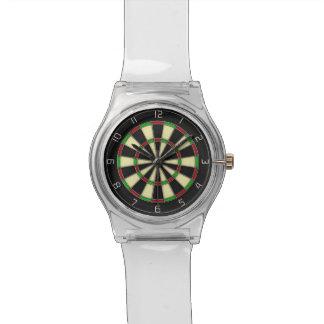 """""""Round The Clock"""" Classic Darts Dartboard Watch"""