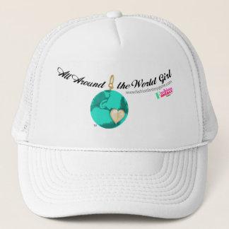 'Round the World Girl Trucker Hat