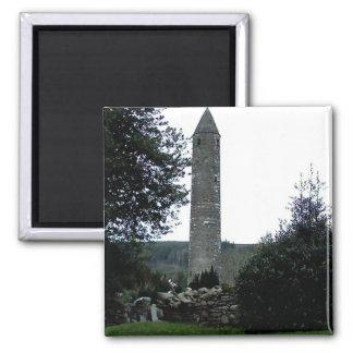 Round Tower,Glendalough,Co.Wicklow,Ireland Magnet