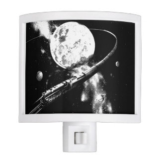 Round Trip To The Moon Night Light