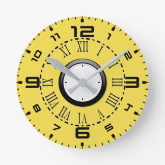 Round Wall Clock ( Medium )