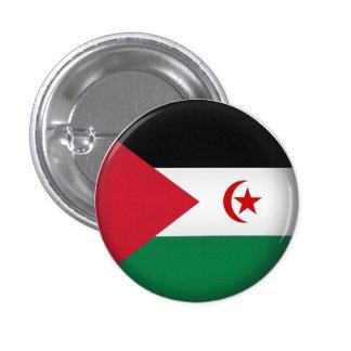 Round Western+Sahara 1 Inch Round Button