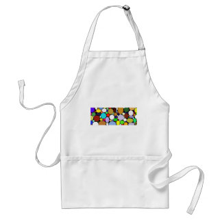 Rounded Color Variety Standard Apron