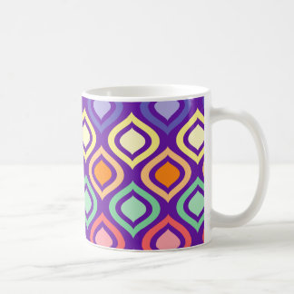 Rounded Diamonds Coffee Mug