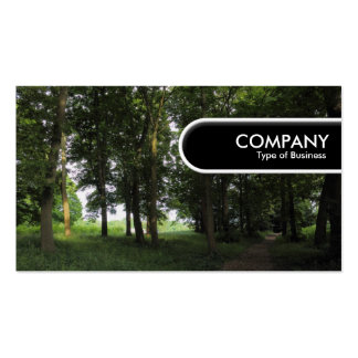 Rounded Edge Tag - Woods Pack Of Standard Business Cards