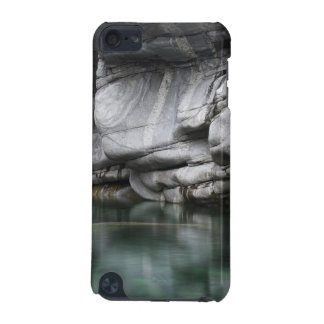 Rounded Rock Cliff by Verzasca River iPod Touch (5th Generation) Covers