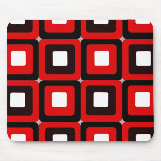 Rounded Squares Mouse Pad