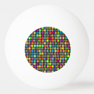 Rounded Squares Ping Pong Ball